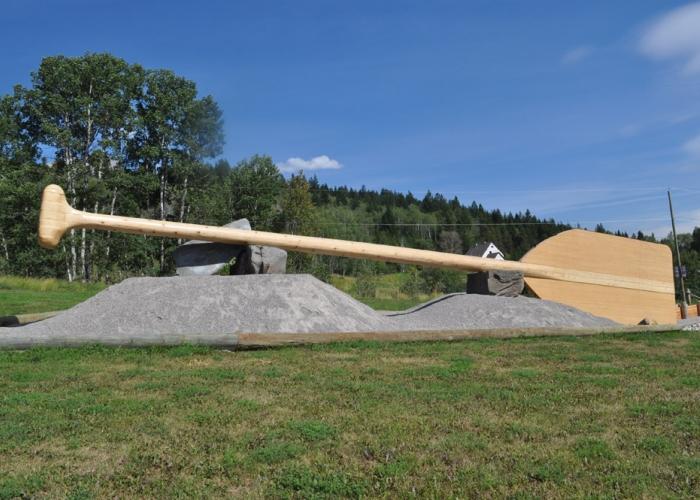 World's Largest Paddle