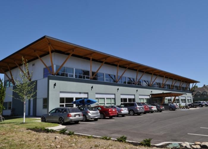Columbia Shushwap Regional District, Administrative Building