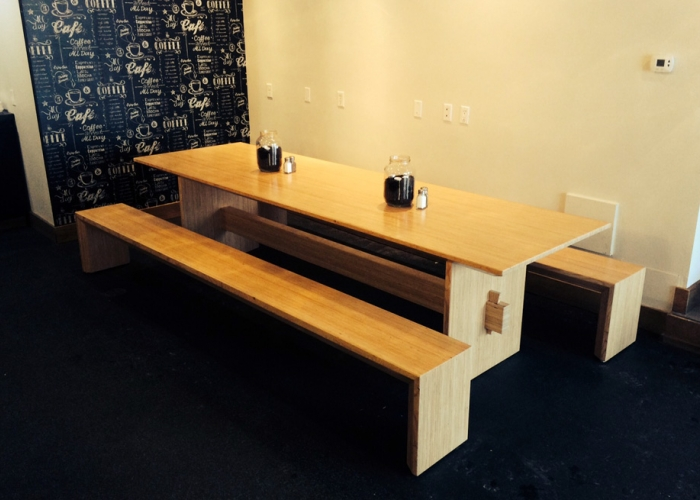 Double Black Café, Tables and Benches