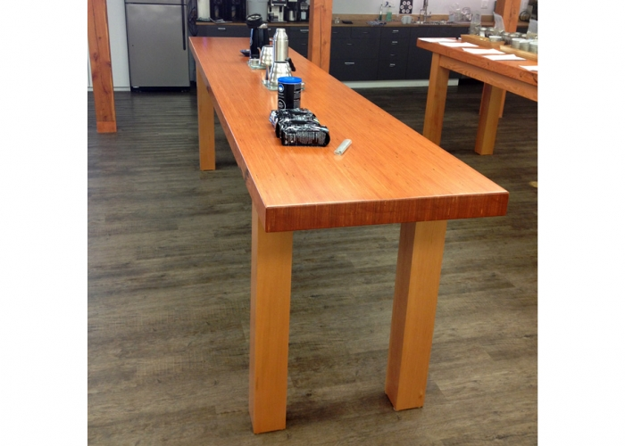 Kicking Horse Coffee, Coffee Tables